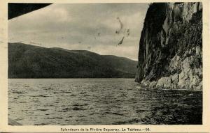 Canada - Quebec. Le Tableau, Saguenay River