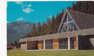 Our Lady of Lourdes, Catholic Church, Canadian Rockies, Jasper, Alberta, Cana...