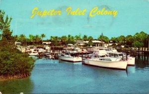 Florida Jupiter Marina At Jupiter Inlet Colony 1972