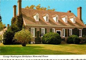Virginia Wakefield Memorial House George Washington Birthplace