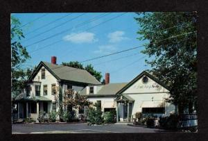 MA Swedish Coffee House Shensk Kaffestuga Sudbury Mass Massachusetts Postcard PC