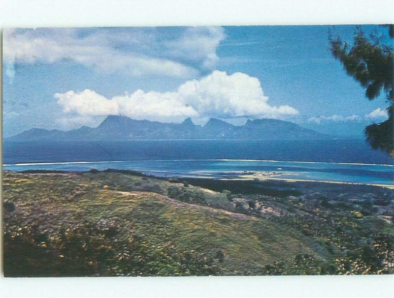 Pre-1980 NICE VIEW Papeete Tahiti i4183