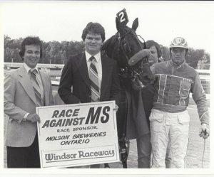 WINDSOR RACEWAY Harness Horse Race , GRACE ALMAHURST National Season Leader
