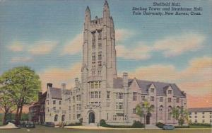 Connecticut New Haven Sheffield Hall Sterling Tower & Strathcona Hall Yal...