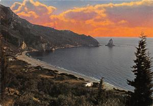 Greece Corfu Ag. Gordis Spiaggia Beach Sunset