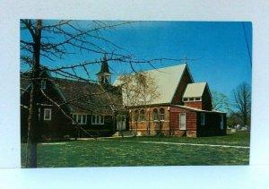Bridgeville Delaware St Marys Episcopal Church Postcard