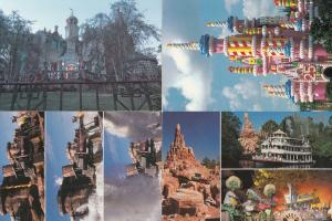 Walt Disney World Catastrophe Canyon Thrill Ride 4x Postcard s