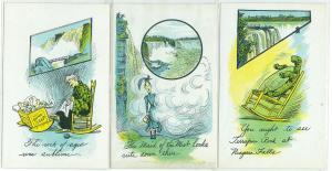 3 - Early Niagara Falls Comic Cards