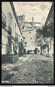 dc1272 - SPAIN Sevilla 1910s San Miguel by Linares