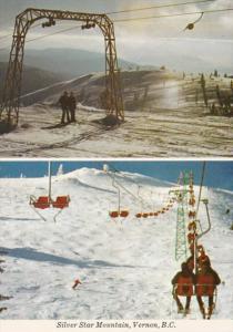 Canada Vernon Silver Star Mountain Ski Lift
