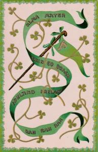 IRELAND, 00-10s; Alma Matter, Erin Go Bragh, Banner, Clovers, Shillelagh
