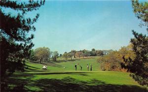 Wheeling West Virginia~Oglebay Park Golf Course~Golfers @ Putting Green~1960s Pc