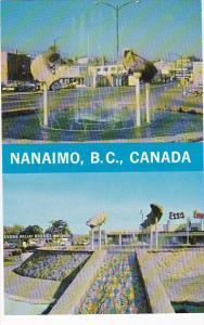 Canada British Columbia Nanaimo Centennial Fountain