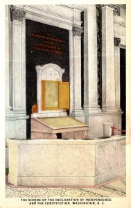 Washington D C Library Of Congress Declaration Of Independence Shrine Curteich