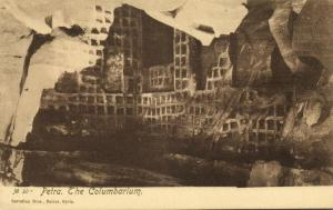 jordan, PETRA, The Columbarium (1920s) Sarrafian 30