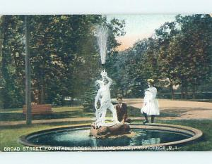 Pre-1907 PARK SCENE Providence Rhode Island RI hp9517