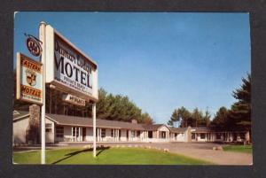 ME Dumar Lodge Motel Roite 302, Raymond Maine Postcard