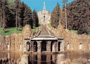 Kassel Wilhelmshoehe, Herkules mit Kaskaden Grotte mit Wassergott, Neptunbecken