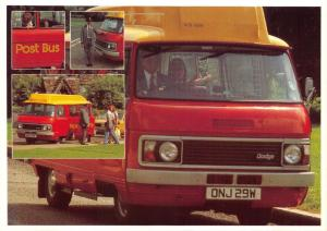 Postcard Royal Mail Dodge Postbus at Leigh near Reigate #811