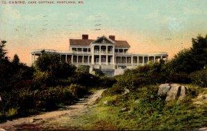 Maine Portland Cape Cottage Casino 1910