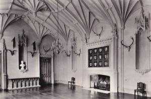 Blithfield Staffordshire The Great Hall Vintage Real Photo Postcard