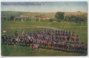 Riley KS - Mounted Troup Cavalry