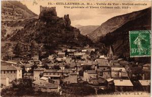 CPA  Guillaumes - Vallée du Var - Vue Generale et Vieux Chateau  (639465)