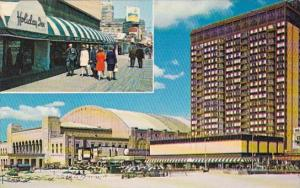 Convention Hall And New Holiday Inn Atantic City New Jersey