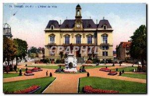 Old Postcard Tarbes l & # City 39hotel