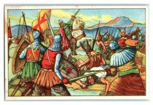 Battle of the Huns, Ekkehard, Echte Wagner German Trade Card *VT31Q