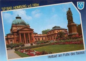 Gruesse aus Bad Homburg, Heilbad am Fusse des Taunus Statue