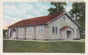 St. Mary's-of-the-Woods, Russells Point, Ohio on Indian Lake, 30-40s