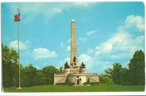 Abraham Lincoln Tomb, Springfield, Illinois, unused Postcard