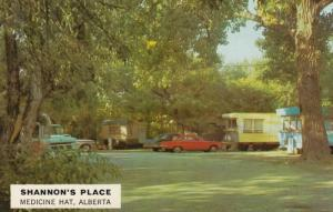 MEDICINE HAT, Alberta, Canada, 1940-60s; Shannon's Place, Trailer Park