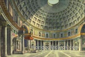 Roma, Italy, Italia Interno del Pantheon  Interno del Pantheon