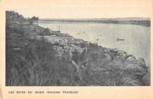 BR56903 les Rives du niger Soudan Francais    Africa sudan