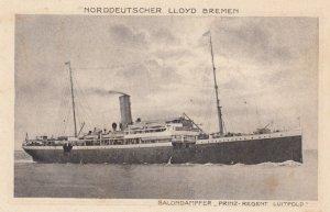 NORDDEUTSCHER LLOYD BREMEN Ocean Liner Prinz-Regent Luitpold , 00-10s