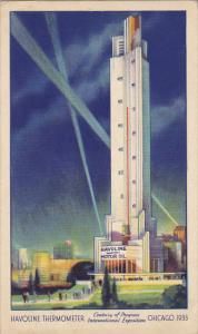 Havoline Thermometer Century Of Progress Chicago 1933