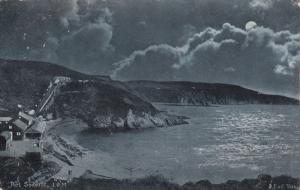 PORT SODERICK at night , I.O.M. , PU-1904