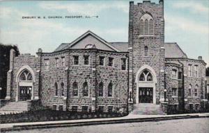 Illinois Freeport Embury M E Church