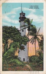 Cape Florida Lighthouse Miami Florida 1933