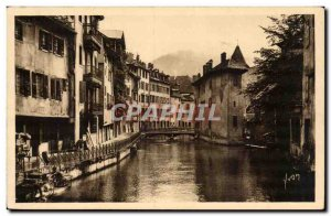 Old Postcard Savoie Annecy Old Quarter
