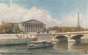 PARIS, France,1900-10s;Chambre des Deputes, Pont de la Concorde ; TUCK 111 No 77
