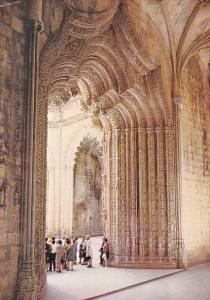 Portugal Batalha Monastery Entrance To The Unfinished Chapels