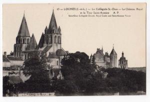 Loches, La Collegiale St-Ours