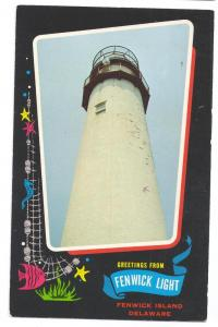 Greetings Fenwick Island Light Delaware DE Lighthouse