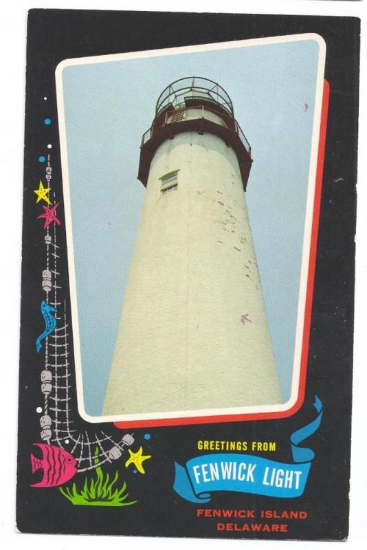 Greetings Fenwick Island Light Delaware DE Lighthouse