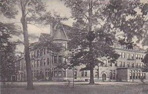 Ohio Delaware N E View of Monument Hall Ohio Wesleyan University Albertype