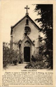 CPA Lorry-les-Metz Chapelle ou repose la Venerable Mme Carre de Malberg (393083)