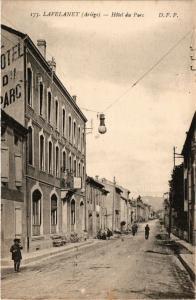 CPA LAVELANET (Ariege) - Hotel du Parc (350944)